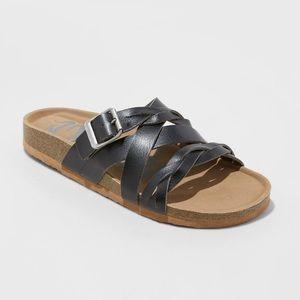 Women's Mad Love Pari Strappy Braid Footbed Sandal